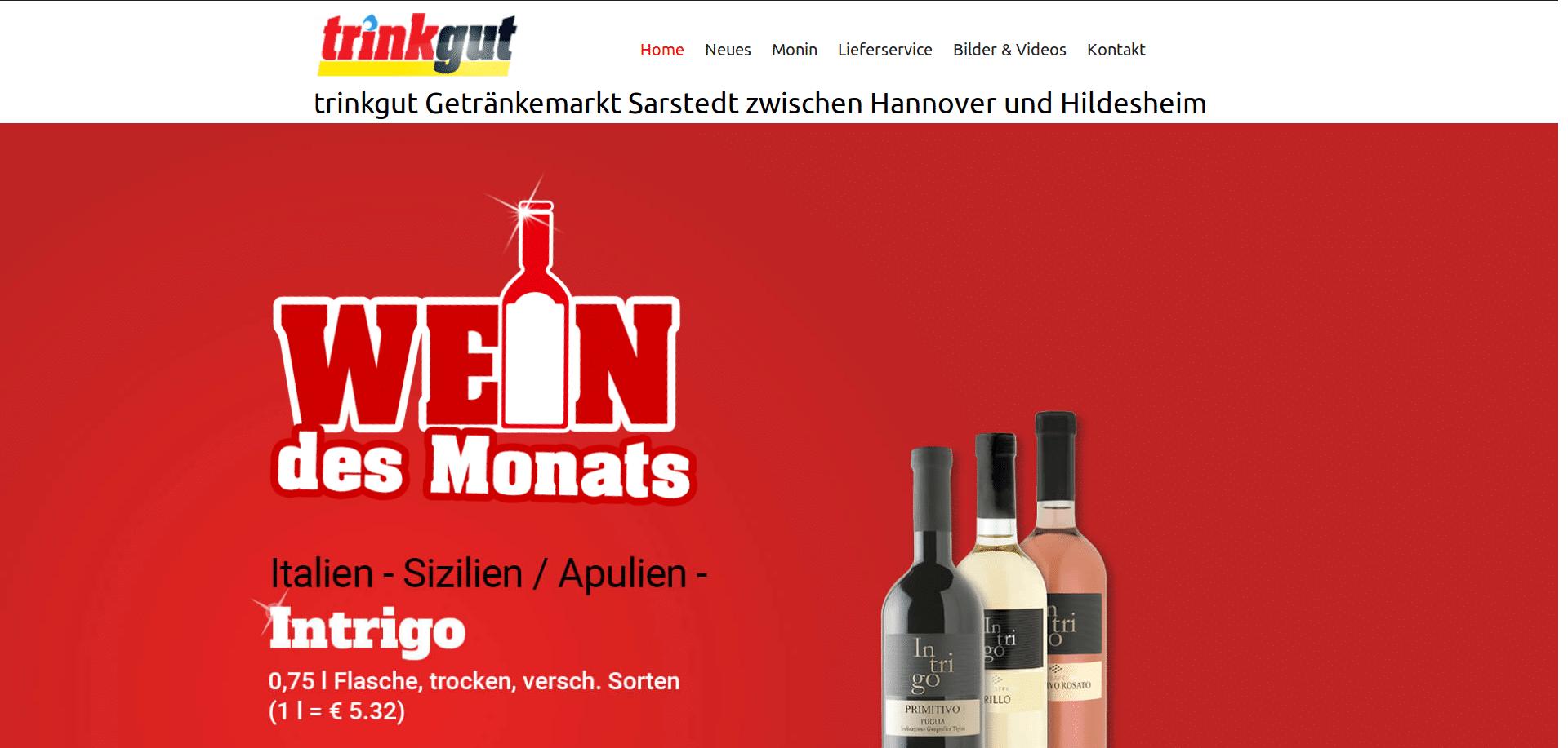 Screenshot-2018-2-14 Trinkgut Getränkemarkt Sarstedt zwischen Hannover und Hildesheim